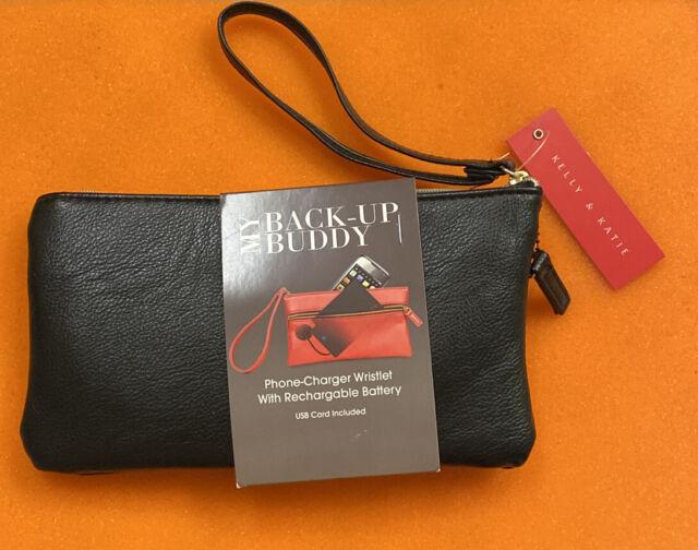 Mundi My Back Up Buddy Phone Charger Wristlet Pink For Sale Online Ebay