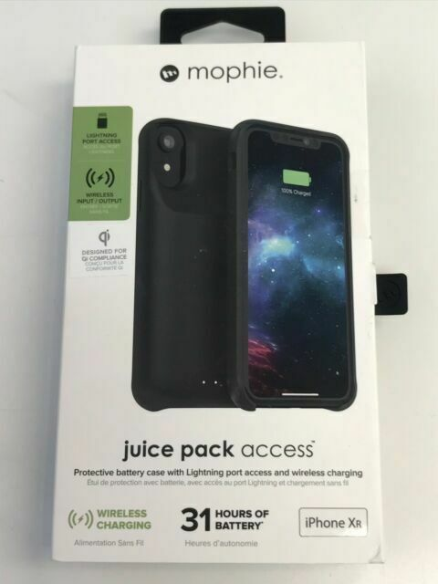 Mophie 401002821 Wireless Charging Battery Case Black For Sale Online Ebay Related reviews you might like. mophie 401002821 wireless charging battery case black