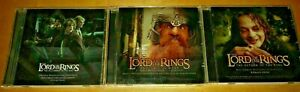 Lot-of-3-Lord-of-the-Rings-LOR-Soundtrack-CD