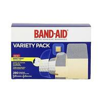 Band-aid Brand Adhesive Bandages, Variety Pack, 280 Count, Assorted Sizes on sale