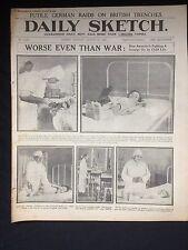 "Original WW1 ""Daily Sketch"" Newspaper Tuesday August 22nd 1916"