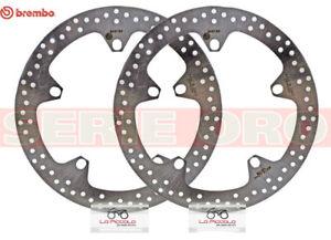 168B407D7-COPPIA-DISCHI-FRENO-BREMBO-ANTERIORE-BMW-R-1200-R-2008-2009-2010-2011