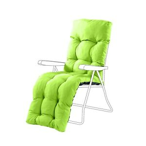 Excellent Details About Lime Replacement Waterproof Outdoor Garden Relaxer Chair Recliner Cushion Pad Creativecarmelina Interior Chair Design Creativecarmelinacom