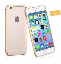 "HOCO iPhone 6/6s Case 4.7"" Bumper Blade Series Fedora Metal Bumper Case, Golden"