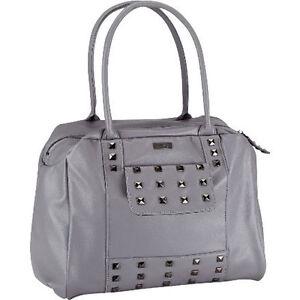Adidas NEO SG Handbag Damentasche Handtasche Bag Shopper grau B30xH25xT15