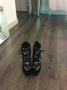 8fbe3a6cc Image is loading Sam-Edelman-034-Winnie-034-Stacked-Heel-Boot