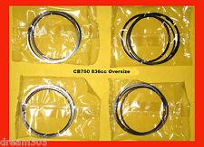Honda CB750 Piston Rings x4 sets!  836cc 65mm 1969-1976 Oversize rings Big Bore