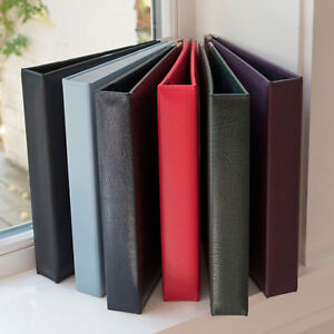 A4-Leather-Ring-Binder-12-Colours-4-Ring-Folder-Leather-Binder-OHSO1079