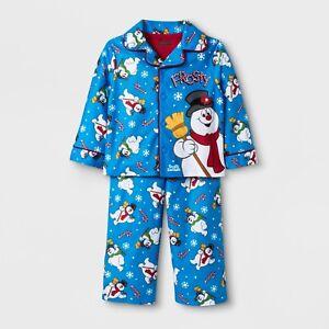 16b282906 Frosty the Snowman 2 Piece Pajama Set Baby/Toddler Boys Size 18 ...