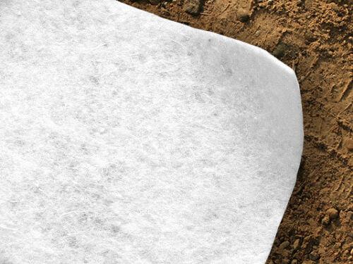 5.5m2 Membrana in Tessuto Geotessile separazione perdita per infiltrazione in feltro 1.1 x 5m-SPEDIZIONE GRATUITA