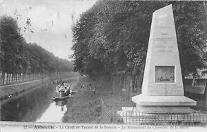 CPA 80 ABBEVILLE LE CANAL DE TRANSIT DE LA SOMME