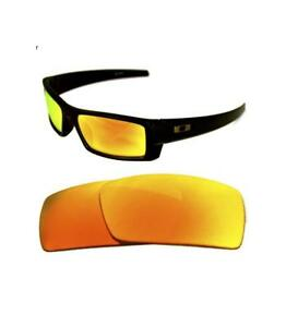 713aeecb2b5 NEW POLARIZED CUSTOM FIRE RED LENS FOR OAKLEY GASCAN S SUNGLASSES