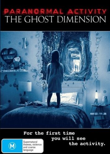 1 of 1 - The Paranormal Activity - Ghost Dimension (DVD, 2016)