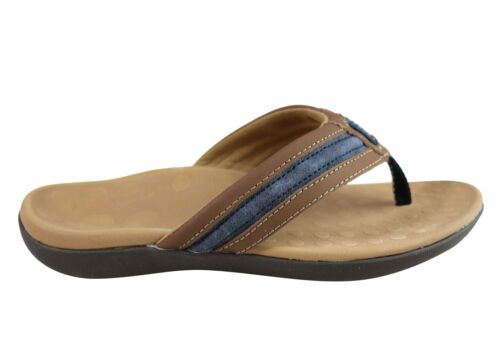 Brand New Scholl Orthaheel Crown Mens Comfortable Supportive Thongs