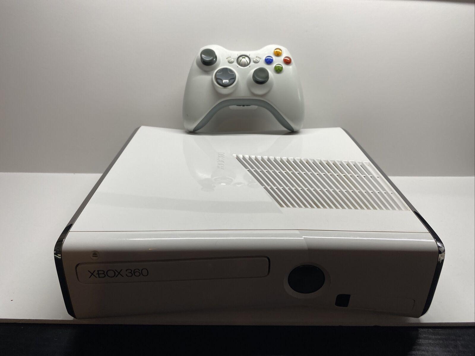 Microsoft Xbox 360 Slim White Console Free Shipping on eBay thumbnail