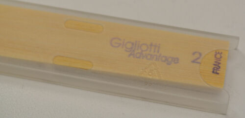 STRENGTH #2 SET//LOT OF 5 NEW GIGLIOTTI ADVANTAGE TENOR SAX REEDS
