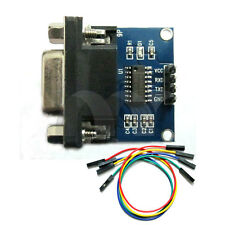 RS232 To TTL Converter Module COM Serial Board MAX3232 With Dupont Cable