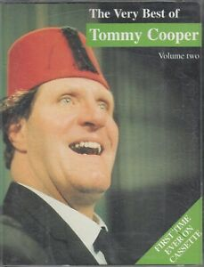 Tommy-Cooper-The-Very-Best-Of-Cassette-Audio-Comedy-Humour-FASTPOST