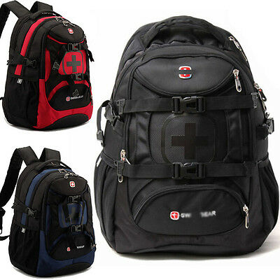 35L SWISS GEAR Backpack Rucksack Outdoor Sports Travel Hiking Schoolbag Daypack