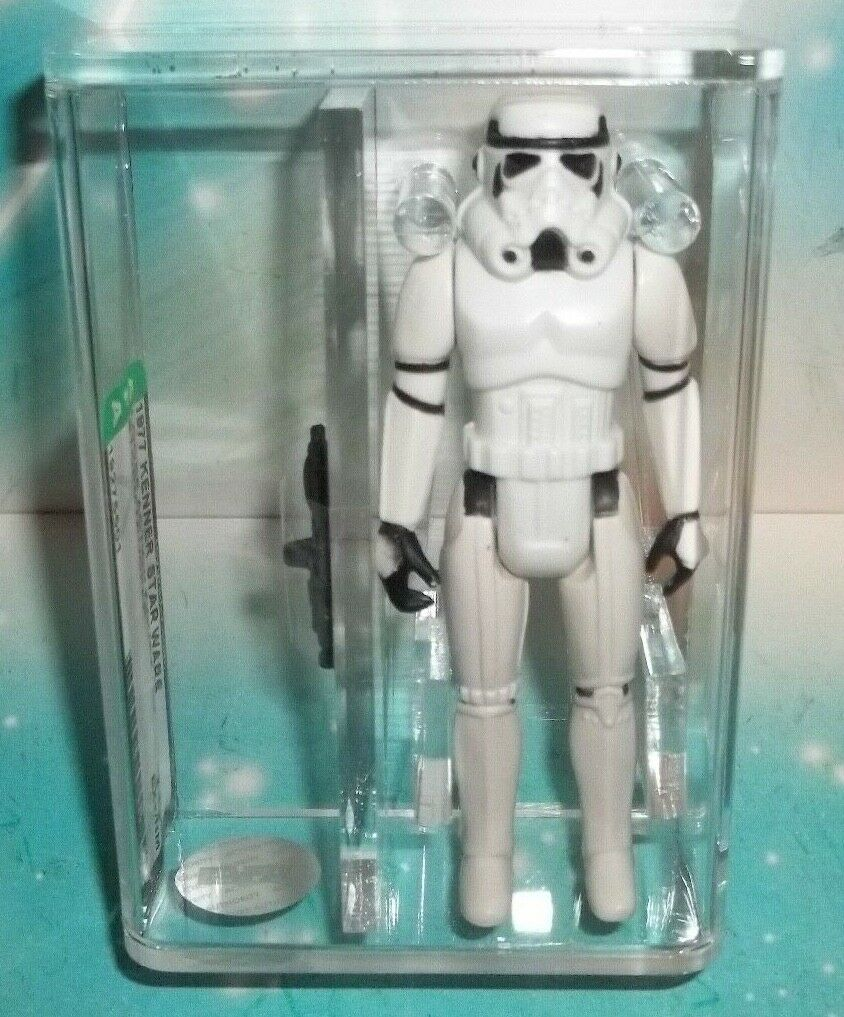 Star Wars Vintage 1977 IMPERIAL STORMTROOPER Figure COO Hong Kong Action Figure Authority 75