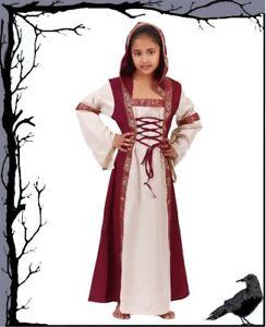 ce537eb57ce007 Das Bild wird geladen Mittelalter-Kleider-Kinder-Adelskleid-Akiria-Baeres