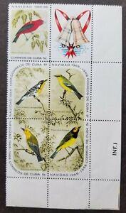 [SJ] Qba Birds 1966 Fauna Tree (stamp) MNH
