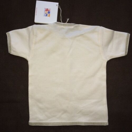 NWT 6-12 Mo Frog Lily Pad Sckoon 100/% Organic Cotton Short Sleeve Tshirt