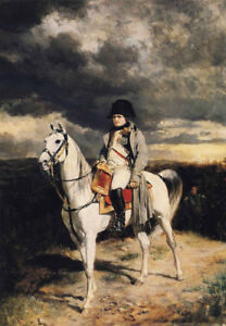 Napoleon-I-In-1814-by-Jean-Louis-Ernest-Meissonier-Oil-Painting-Reproduction