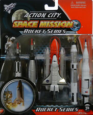 NASA Space Shuttle Discovery Rocket 5 pc Set Gemini Saturn V Mercury Redstone