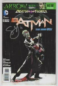 Batman-17-New-52-Signed-Scott-Synder-COA-DC-Comics-2011-VF-8-5