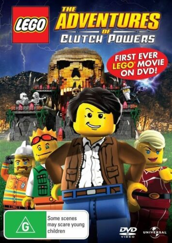 1 of 1 - LEGO - The Adventures Of Clutch Powers (DVD, 2010) -- Free Postage --