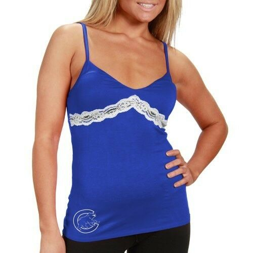 MLB CHICAGO CUBS Ladies Camisole Tank Top Super Soft