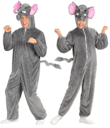 ELEFANTI PELUCHE Costume Unisex NUOVO-Uomo Carnevale Travestimento Costume