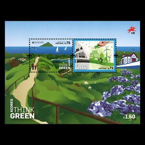 Azores-2016-EUROPA-Stamps-034-Think-Green-034-s-s-MNH