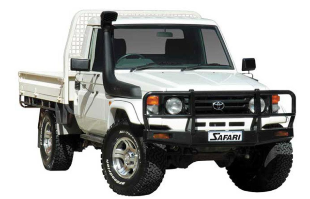 SAFARI SNORKEL TO SUIT  4.2L diesel Toyota Landcruiser 70, 75 Series, 78, 79