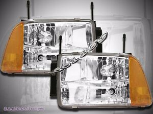 Image Is Loading 95 96 97 Chevy S10 Blazer Chrome Headlights