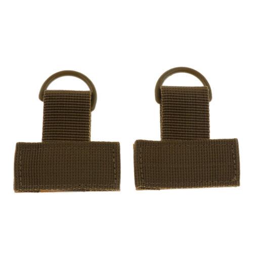 2 Stücke im Freien Molle Nylon Gurtband t Haken \u0026 Loop d Weitere Sportarten