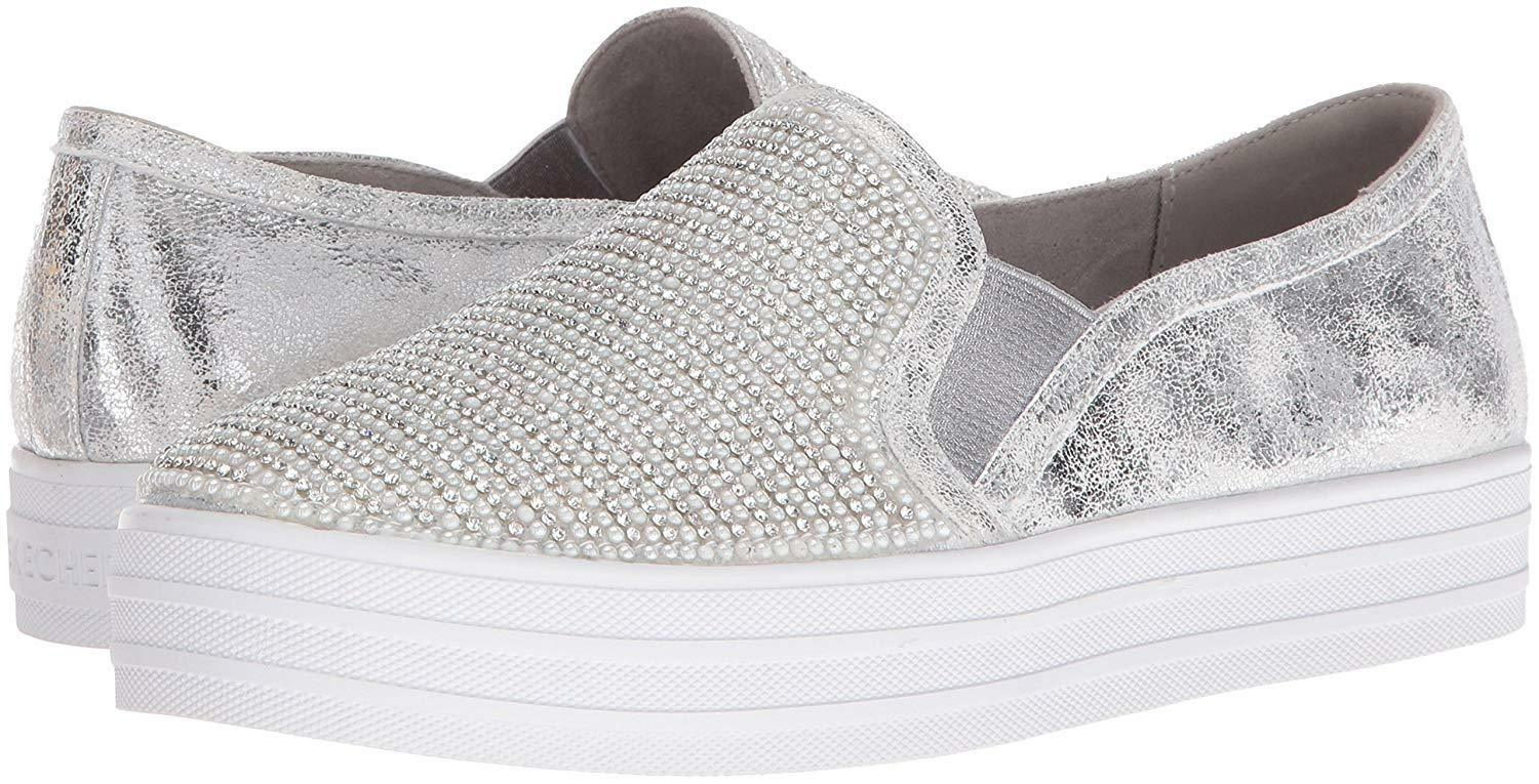 schuhe SKECHERS damen STREET LOS ANGELES AIR COOLED MEMORY FOAM 801 PEW SHINY DA