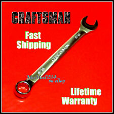 Craftsman Combination Wrench Fully Polished Sae Inch Metric 12 Pt Any Size