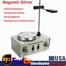 Magnetic Stirrer With Heating Plate 79 1 Hotplate Digital Mixer Stir Bar Lab