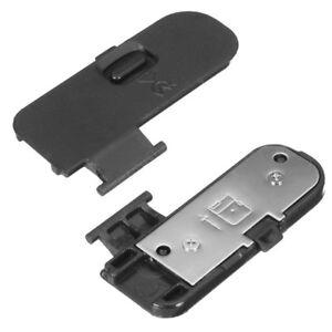 Bateria-Puerta-Tapa-tapon-ABS-amp-Metal-Reparar-Repuesto-para-Nikon-D3200-D3300