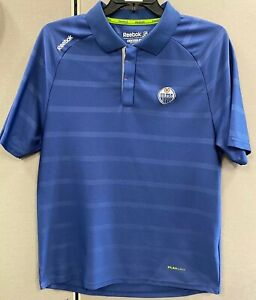Edmonton-Oilers-Reebok-Large-Center-Ice-Collection-Golf-Polo-Shirt-Play-Dry