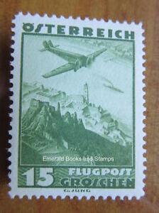 EBS-Austria-Osterreich-1935-Airmail-Stamp-Durnstein-Michel-600-MNH
