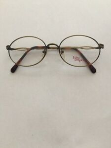 f2a793eb81f Vintage 1980 s Bronze   Tortoise Lolita Lempicka By Nikon Eyeglasses ...