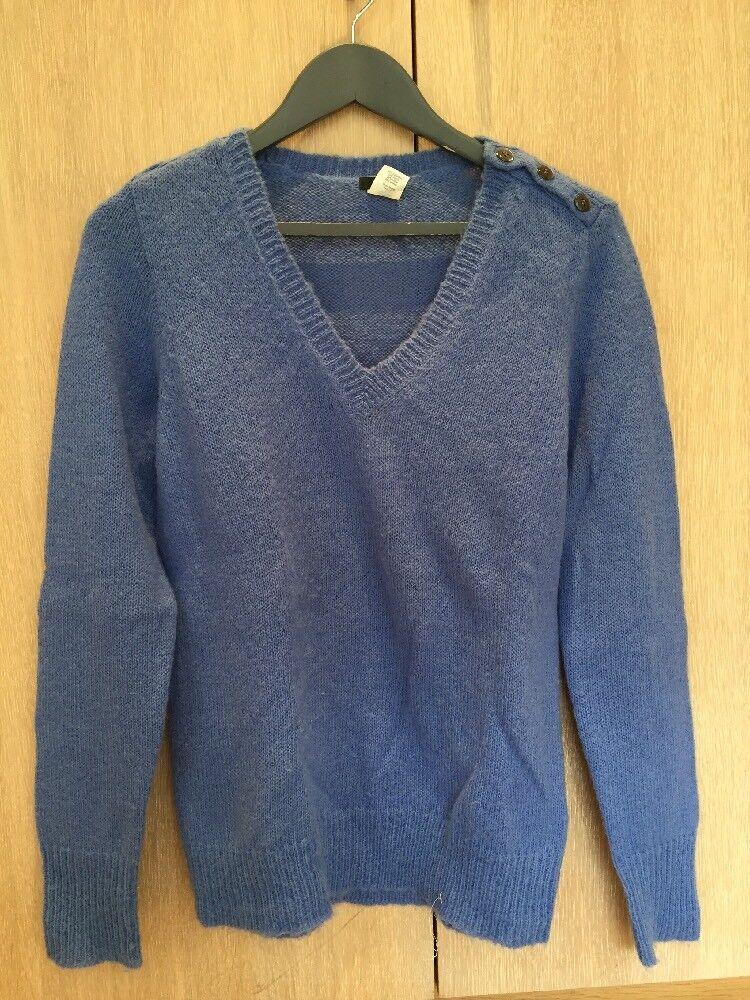 J.CREW bluee Knitted Women's Jumper Size Medium M