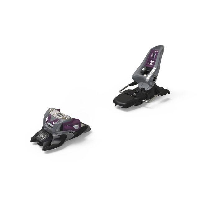 2019 Marker Squire 11 ID B90 Adult Grey/Purple Ski