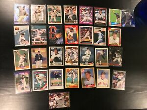 30-Card-Roger-Clemens-Lot-95-Embossed-97-Metal-Universe-More-Boston-Red-Sox-B8