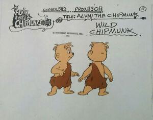 THE WILD CHIPMUNK 1983 Alvin Chipmunks Cartoon ANIMATION MODEL SHEET Copy