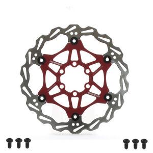 Bike Brake Disc MTB Mountain Floating Rotors MTB 160mm 180mm w// 6 Bolts T25