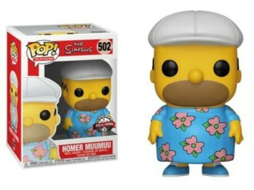 Exclusive Homer Simpson in MuuMuu Funko Pop Vinyl New in Box In Hand
